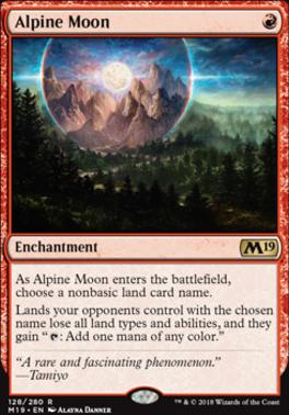 Core Set 2019: Alpine Moon