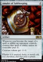 Core Set 2019: Amulet of Safekeeping
