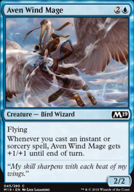 Core Set 2019: Aven Wind Mage