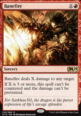 Core Set 2019: Banefire