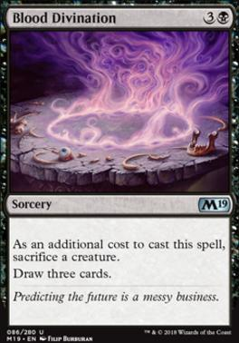 Core Set 2019: Blood Divination