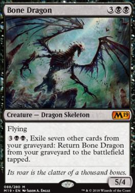 Core Set 2019: Bone Dragon