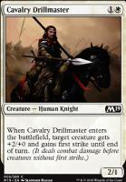 Core Set 2019 Foil: Cavalry Drillmaster