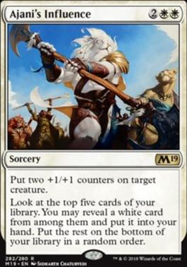 Core Set 2019: Ajani's Influence (Planeswalker Deck)