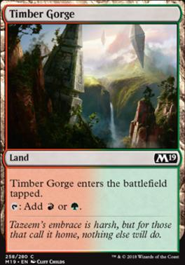 Core Set 2019: Timber Gorge