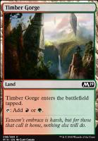 Core Set 2019 Foil: Timber Gorge
