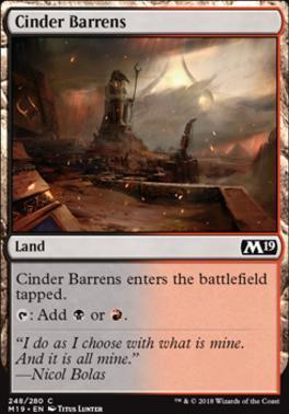 Core Set 2019: Cinder Barrens