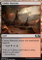 Core Set 2019 Foil: Cinder Barrens