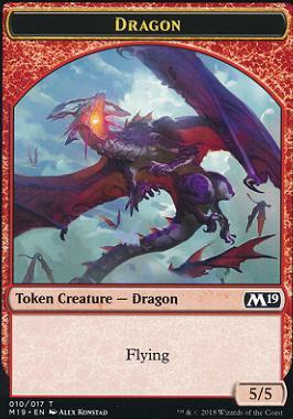 Core Set 2019: Dragon Token (010)