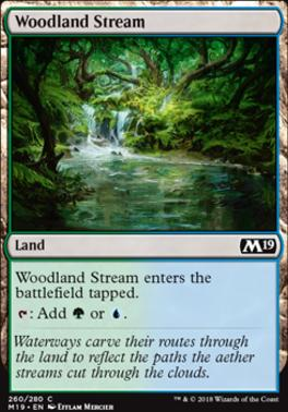 Core Set 2019 Foil: Woodland Stream
