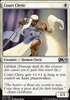 Core Set 2019: Court Cleric (Planeswalker Deck)