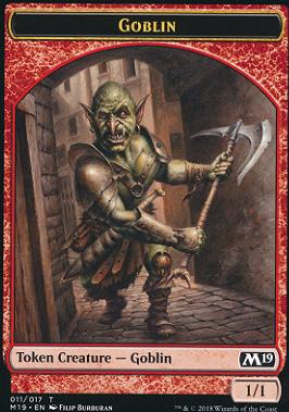Core Set 2019: Goblin Token