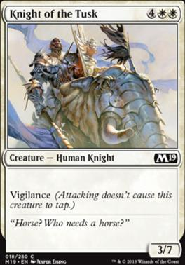 Core Set 2019: Knight of the Tusk