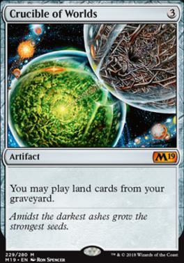 Core Set 2019: Crucible of Worlds
