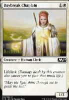 Core Set 2019 Foil: Daybreak Chaplain