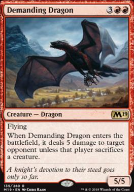 Core Set 2019: Demanding Dragon