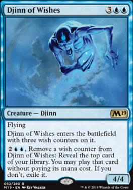 Core Set 2019: Djinn of Wishes