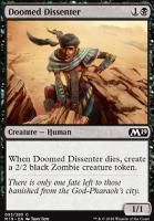 Core Set 2019: Doomed Dissenter