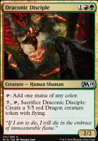Core Set 2019 Foil: Draconic Disciple