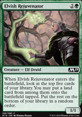 Core Set 2019: Elvish Rejuvenator