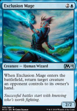 Core Set 2019: Exclusion Mage