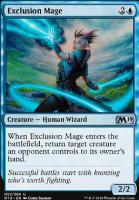 Core Set 2019 Foil: Exclusion Mage