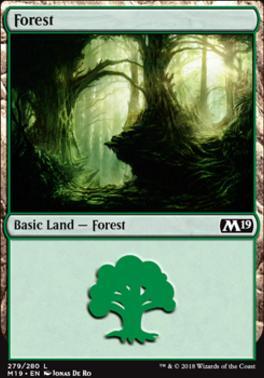 Core Set 2019: Forest (279 C)
