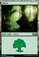 Core Set 2019: Forest (279 C)