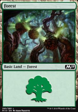 Core Set 2019: Forest (280 D)