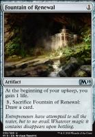 Core Set 2019 Foil: Fountain of Renewal