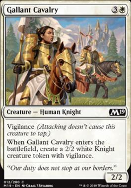 Core Set 2019: Gallant Cavalry