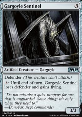 Core Set 2019: Gargoyle Sentinel