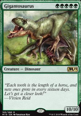 Core Set 2019: Gigantosaurus