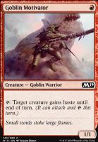 Core Set 2019: Goblin Motivator
