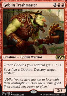 Core Set 2019: Goblin Trashmaster