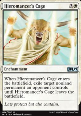 Core Set 2019: Hieromancer's Cage