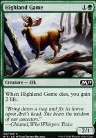 Core Set 2019 Foil: Highland Game