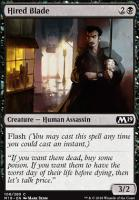 Core Set 2019 Foil: Hired Blade