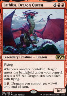 Core Set 2019: Lathliss, Dragon Queen