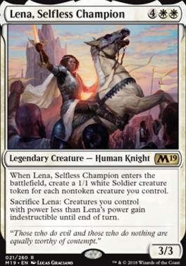 Core Set 2019: Lena, Selfless Champion