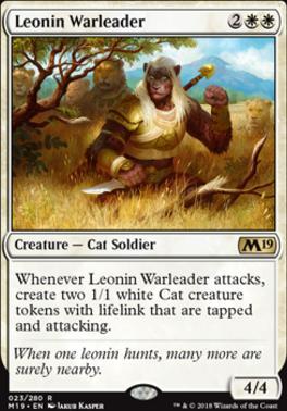 Core Set 2019: Leonin Warleader