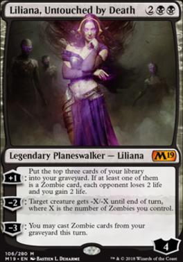 Core Set 2019: Liliana, Untouched by Death
