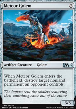 Core Set 2019: Meteor Golem