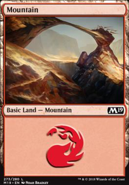 Core Set 2019: Mountain (273 A)