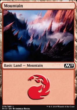 Core Set 2019: Mountain (276 D)