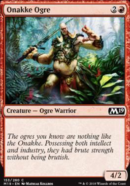 Core Set 2019: Onakke Ogre