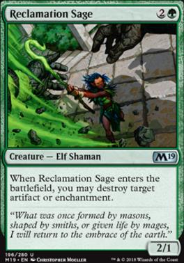 Core Set 2019: Reclamation Sage