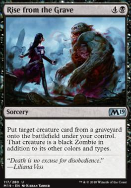 Core Set 2019 Foil: Rise from the Grave