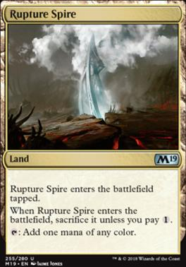 Core Set 2019 Foil: Rupture Spire