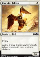 Core Set 2019 Foil: Rustwing Falcon